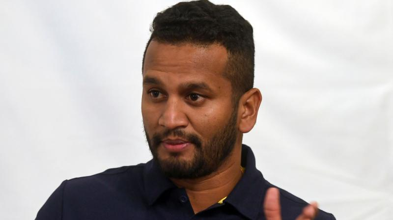 Captain Dimuth Karunaratne called the security for the two-test series '200 per cent' and promised to return. (Photo: AFP)