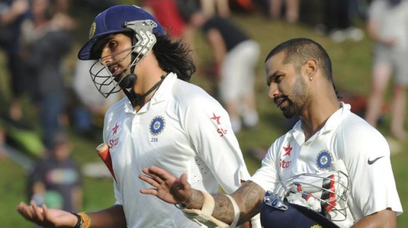 Senior pacer Ishant Sharma and veteran opener Shikhar Dhawan will turn up for the beleaguered Delhi side in their next Ranji Trophy encounter against Hyderabad starting December 25. (Photo: Twitter)