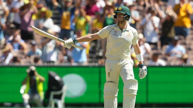 Australia ended day one at 257/4 on Thursday against New Zealand in the ongoing Boxing Day Test here at the Melbourne Cricket Ground (MCG). (Photo: ICC/ Twitter)