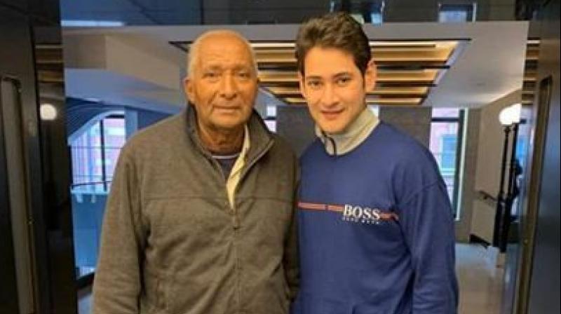 Mahesh Babu with Andy Roberts. (Photo: Instagram)