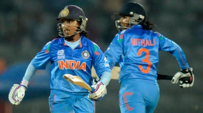 Punam Raut scored the second century of her career. (Photo: ICC)