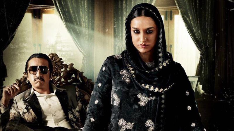 Shraddha Kapoor and Siddhanth Kapoor in 'Haseena.'