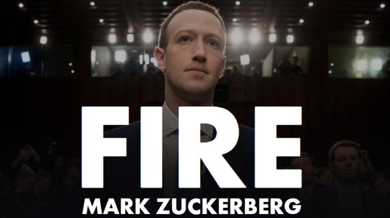 The petition called FireMarkZuckerberg on www.FireMarkZuckerberg.com has been launched by Fight for the Future which is s dedicated to protecting and expanding the Internet's transformative power in people's lives by creating civic campaigns that are engaging for millions of people.