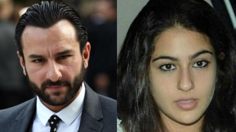Sara Ali Khan is Saif Ali Khan's first child from his first marriage to Amrita Singh.