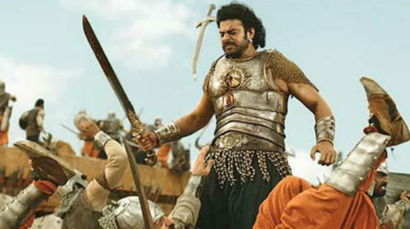 Prabhas in 'Baahubali: The Conclusion.'
