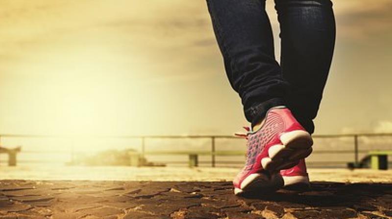 Walk to transform your life. (Photo: Representational/Pixabay)
