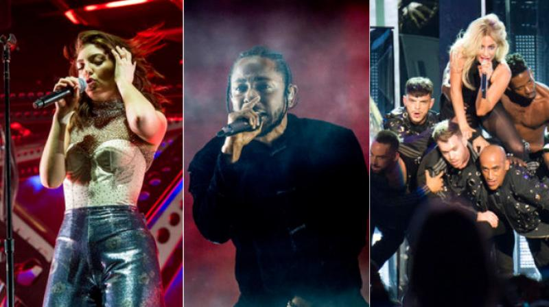 Singers Lady Gaga, Kendrick Lamar and Lorde among other artists perform at Coachella festival in California on the weekend. (Photo: AP)
