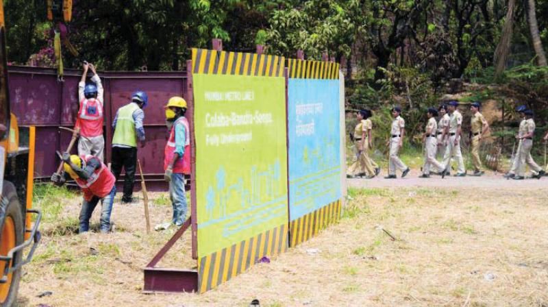 MMRCL had begun soil-testing despite NGT's stay order.