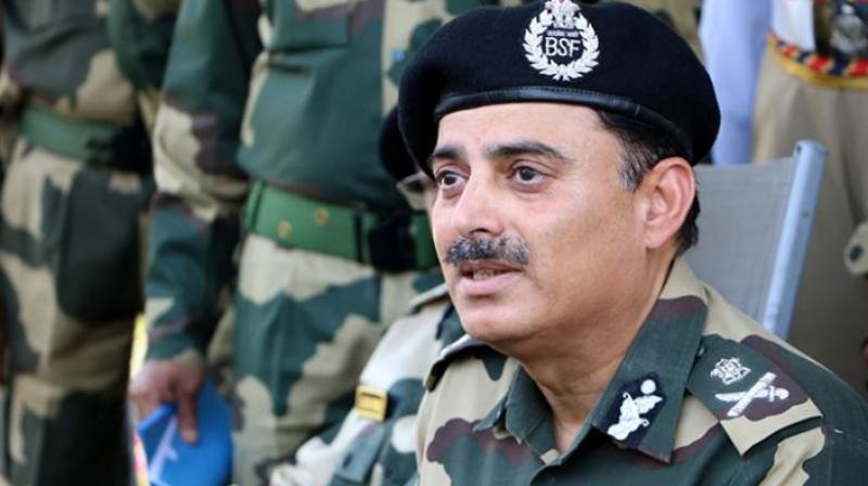 BSF chief K.K. Sharma (Photo: PTI)