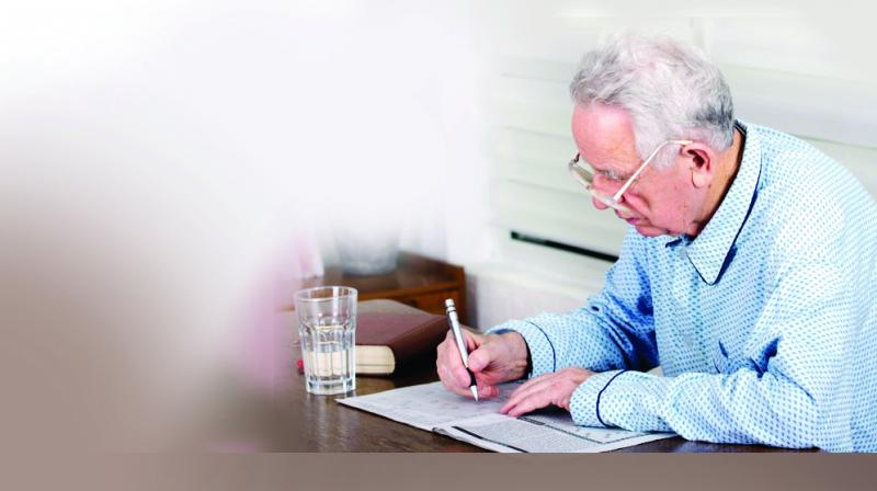 Scientists found that older adults' ability to focus and avoid distraction was not as strong as that of young adults.