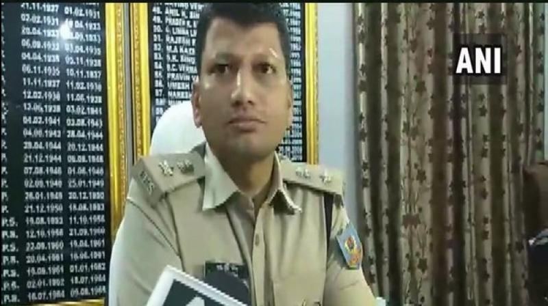 'There were four thieves, three managed to escape. The thief who died was a most wanted criminal. FIR registered and four villagers have been taken into custody. We are questioning them,' SP Ramesh told reporters here. (Photo: ANI)