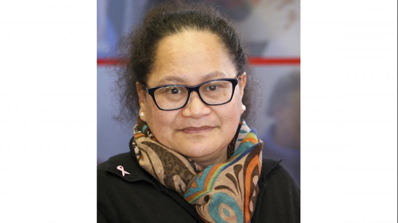 This undated photo released by International Committee of the Red Cross, the organization's New Zealand nurse Louisa Akavi. (Photo:AP)