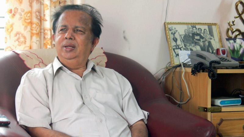 Former ISRO chairman G Madhavan Nair.