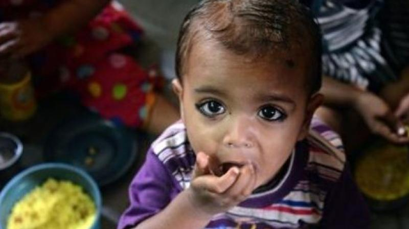 Nine out of 10 children in the age group of 6 to 23 months do not receive adequate diet.