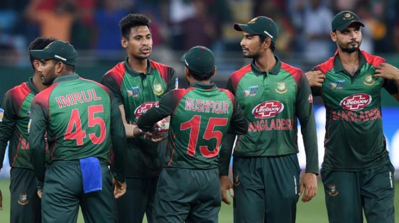 Bangladesh will play against Pakistan and India in the warm-ups before opening its World Cup campaign against South Africa on June 2 at The Oval.  (Photo: AFP)