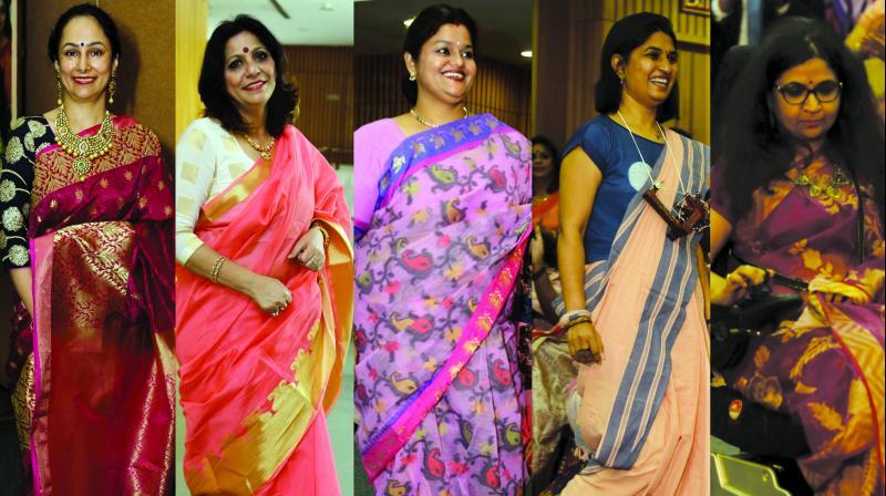Educationist Neelima Kamrah, entrepreneur Neena Gulati, journalist Anshujita Sathpathy, architect Ranju Chordiya Singh, corporate honcho Sangeeta Thakur Verma.