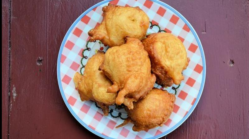 Something steaming hot and deeply fried with a cup of tea is what most crave.
