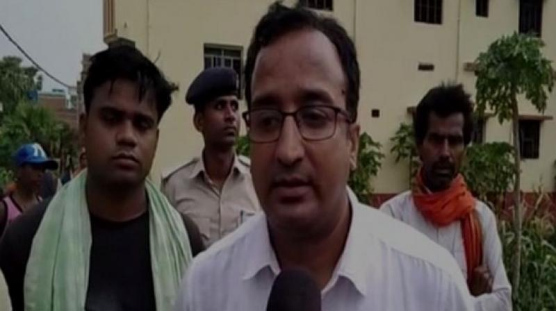 'A child has lost his life, he was taken to the Sadar hospital on June 22 from where he was referred to PMCH in Patna. He was being treated there for the past few days and lost his life today. He was suffering from high fever, we are waiting for the post mortem results to confirm the disease,' Rajeev Ranjan told ANI here. (Photo: ANI)