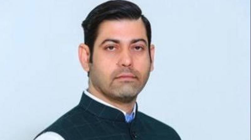 Vikas Chaudhary was hit by more than ten bullets by the men after he came out of a gym in Faridabad. (Photo: Twitter)
