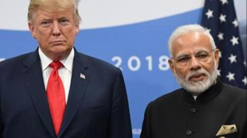 This month, India slapped higher tariffs on 28 US products in retaliation for Washington's withdrawal this month of tariff-free trade for certain Indian goods. (Photo: AFP)