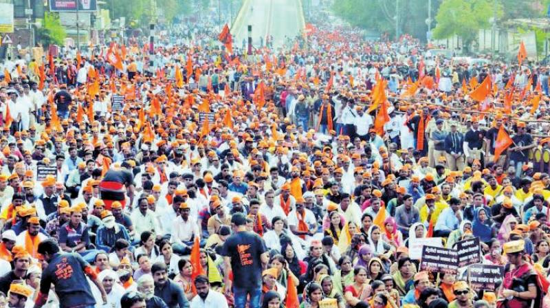 The main demand is to get justice for the victim of Kopardi rape case and reservation for the Maratha community.