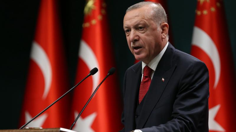 President of Turkey Recep Tayyip Erdogan. — AFP photo