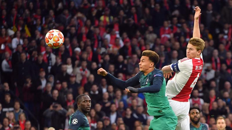 The result ended Ajax's long, and barely plausible, ride through three preliminary rounds, starting in July, to the last four of the competition. (Photo: AFP)