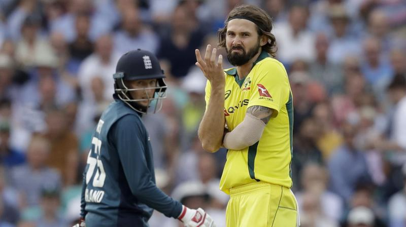 Richardson was a part of the team's squad in the recently concluded limited-overs series against Pakistan in the UAE. With this selection for the World Cup, he will join the likes of Pat Cummins, Mitchell Starc, Nathan Coulter-Nile, and Jason Behrendorff to bolster the fast-bowling department. (Photo: AP)