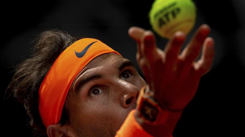 As a result of this win, Nadal would play his record 70th Association of Tennis Professionals (ATP) Masters 1000 semi-final and look to extend his record number of trophies at the elite level to 34. (Photo: AP)