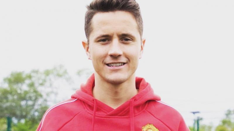 """I really wanted to join Paris and wear these colours,"" said Herrera, who has been capped twice by Spain. (Photo: Ander Herrera/Twitter)"