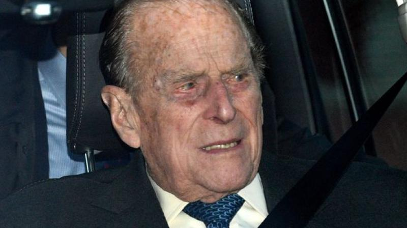 Last week, Prince Philip, husband of Queen Elizabeth II, miraculously escaped unhurt in the accident (File Photo)