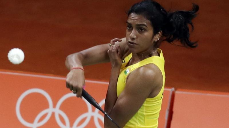 PV Sindhu advanced to the quarterfinals of the Hong Kong Open Super Series with a 21-10, 21-14 victory over Taiwan's Hsu Ya Ching. (Photo: AP)