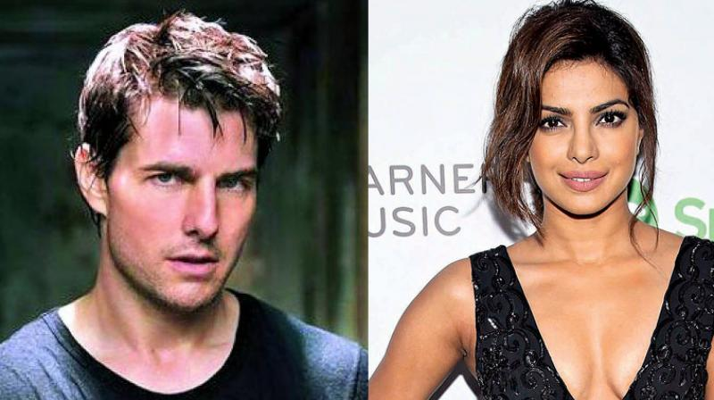 Tom Cruise and Priyanka Chopra