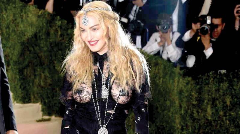 A picture of Madonna used for representational purpose only.