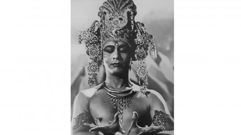 Ram Gopal as Lord Vishnu