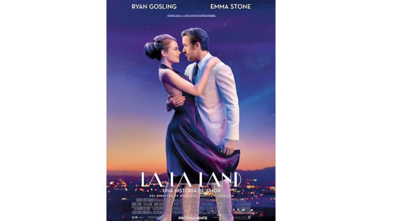A still from the movie La La Land