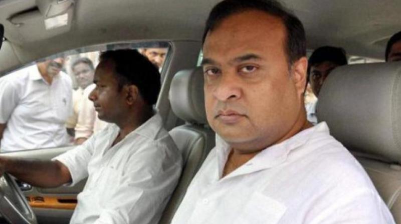 Assam minister Himanta Biswa Sarma. (PTI)