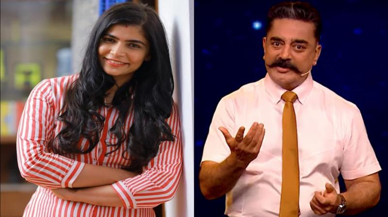 Chinmayi Sripaada and Kamal Haasan. (Photo: Instagram)