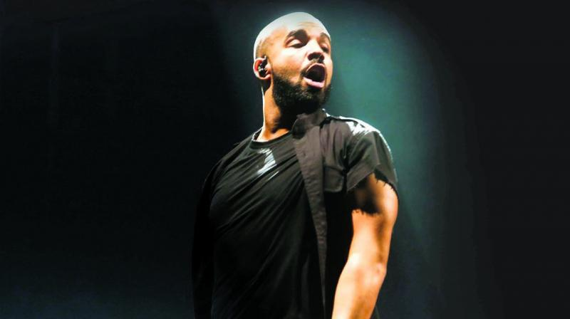 Canadian rapper Drake