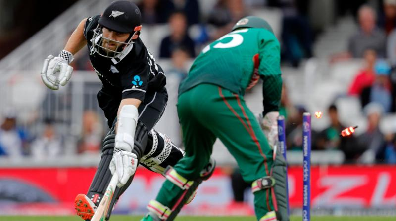 The partnership set the tone as New Zealand chased down Bangladesh's 245-run target, scoring 248 for 8 in 47.1 overs. (Photo: AFP)