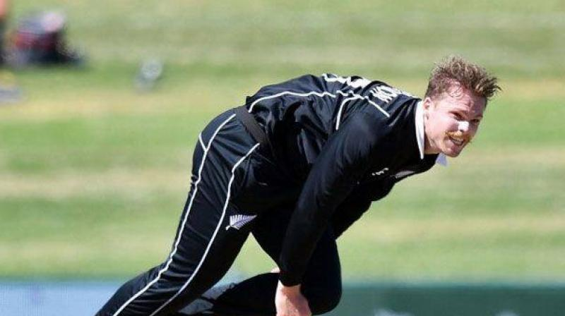 New Zealand fast bowler Lockie Ferguson's long wait for a test debut continues after he was overlooked on Wednesday for the side to face England in the first game of the two-match series at Mount Maunganui. (Photo:AFP)
