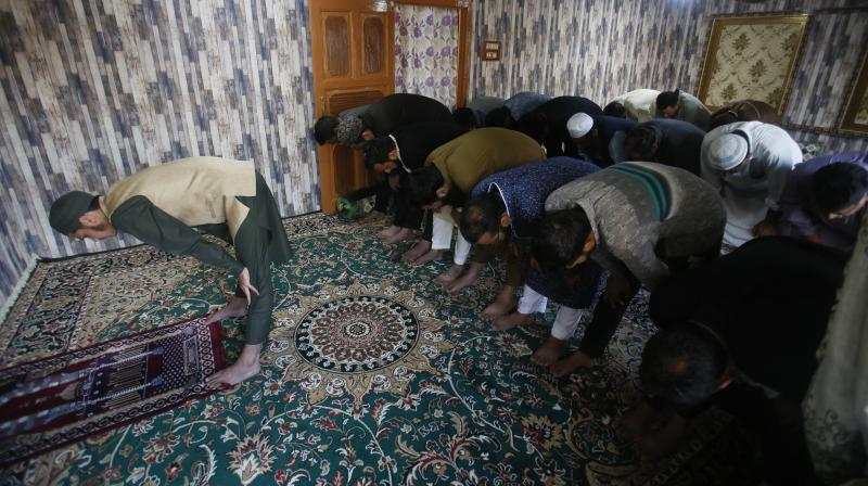 Kashmir mak Eid-ul-Fitr on Sunday. (AP)