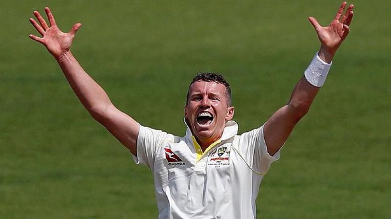 Australia Test bowler Peter Siddle was treated for smoke inhalation after a Big Bash League match in Canberra was abandoned at the weekend because of toxic bushfire haze. (Photo: Twitter/ Peter Siddle)