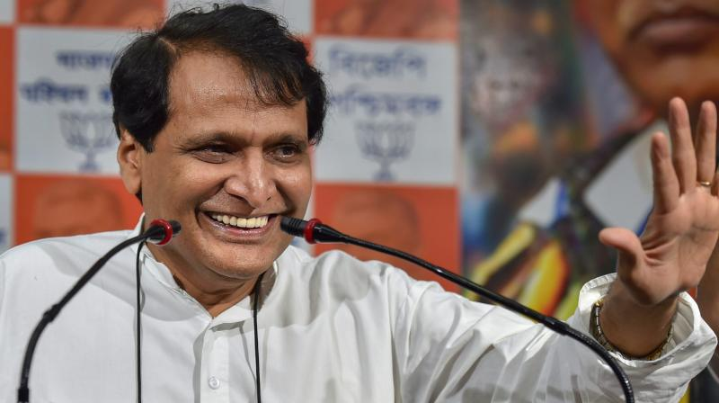 Prabhu, who was the Railways minister in the first term of the NDA government, also informed that the country's railways has almost 8.1 billion passengers per year, and many of them buy tickets through digital platforms. (Photo: FIle)