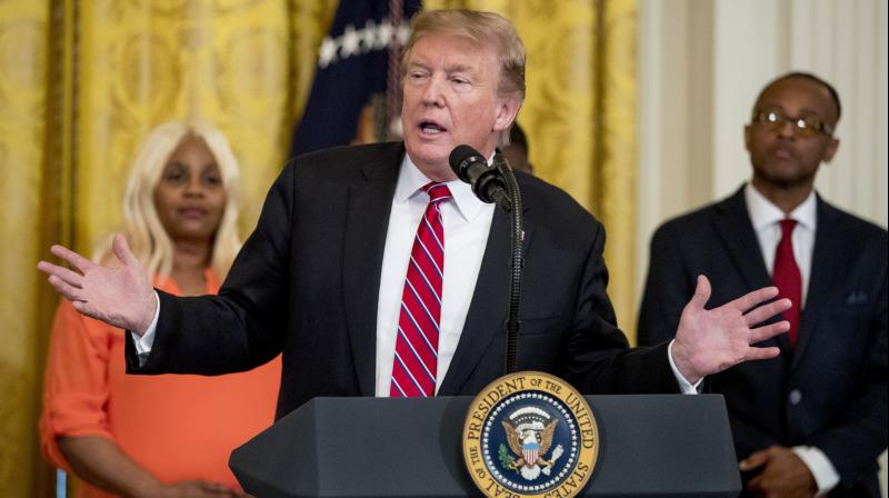 Trump's move suggests he is willing to debate the future of the U.S. healthcare system during the 2020 presidential election campaign. (Photo:AP)