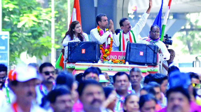 Declared as the President of the Mumbai committee of Indian National Congress (INC) barely a month ago, Milind Murli Deora is already proving out to be the Congress' trump card. (Photo: Rajesh Jadhav)