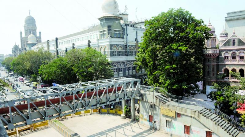 The Mumbai police Thursday filed a chargesheet against Neeraj Desai, director of the firm that carried out the structural audit of the ill-fated Himalaya foot overbridge (FOB) that collapsed and killed seven persons.