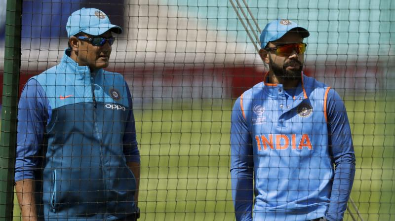 Kumble said that although the BCCI had, several times, attempted to resolve the misunderstandings between him and the captain, it was apparent that the partnership was untenable, and therefore, he had decided to move on. (Photo: AP)