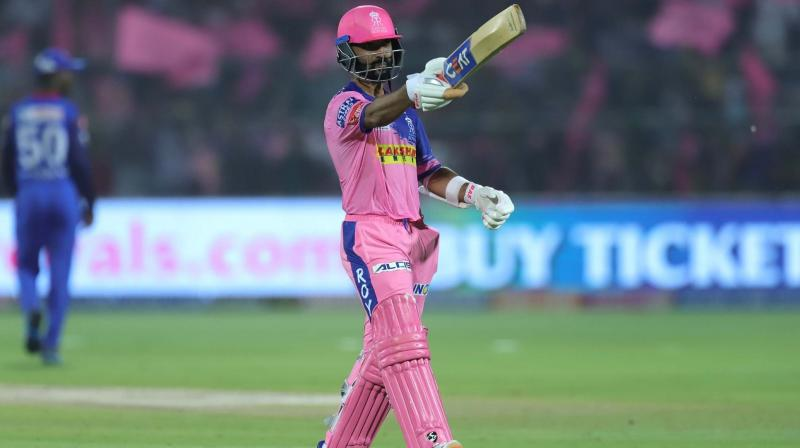 Rajasthan Royals' Ajinkya Rahane was traded to Delhi Capitals for the next edition of Indian Premier League (IPL). (Photo: BCCI)