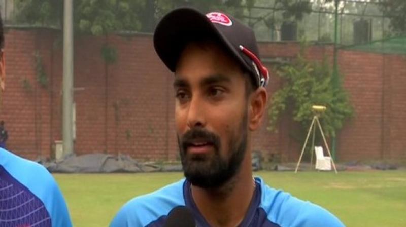 Ahead of the first T20I against India, Bangladesh batsman Liton Das on Thursday said 'it is okay' to play without Shakib Al Hasan. (Photo:ANI)